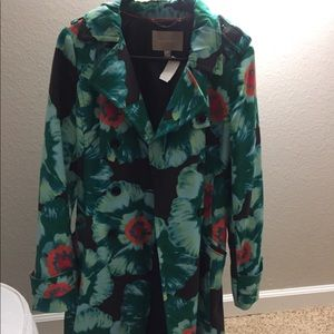 Banana Republic Floral Trench